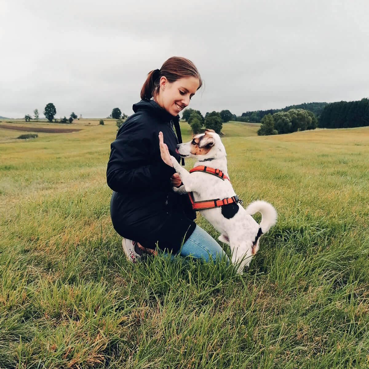 Hundeschule hundefragen Wien 1220 Trainerin Lisa Bobby